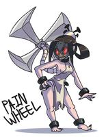 COMMISSION - Painwheel by pc-engine