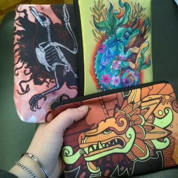 Pencil bags by dmillustration