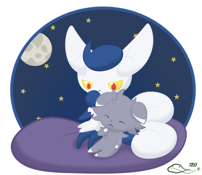 Meowstic Mother's Day by The-Emerald-Otter