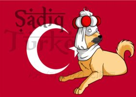 Hetalia Dogs: Turkey by snickerdoots