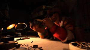 TF2: Night shift by Bielek