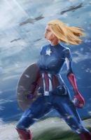 Captain America by ImorBrighthand