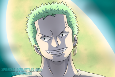 OnePiecectober, day 2: Zoro by SergiART