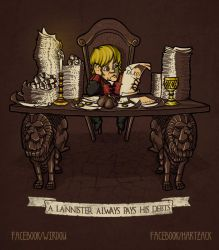 A Lannister always pays his debts by WirdouDesigns