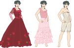 Crimson Lady Evening Gown Concept by novemberkris