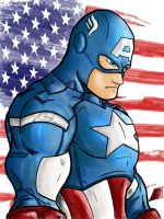 Captain America II by Jey2K