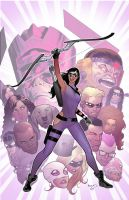West Coast avengers variant cover by PaulRenaud