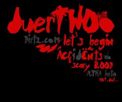 DuerTWOo Font - Horror Bloody by KeepWaiting