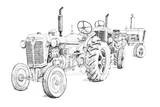 Tractor I by IBBK