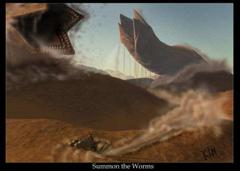 Summon the Worms by RoguePL