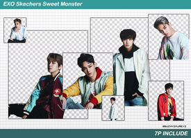 [SHARE PNGs] EXO #Skechers 7P@EXO by SuzyKimJaeXi