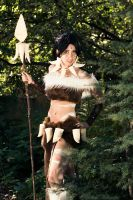 Nidalee Costume 2 PAX 2011 by GinRyu