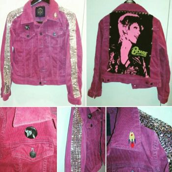 Bowie Glam Punk Jacket by Sew-it-all