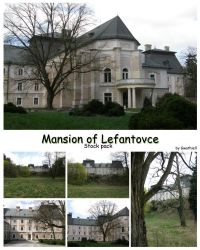 Lefantovce - Mansion StockPack by Gwathiell