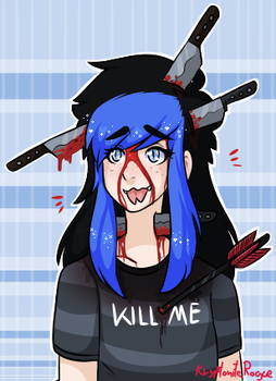 let me fucking die already (VENT) by KryptoniteRogue