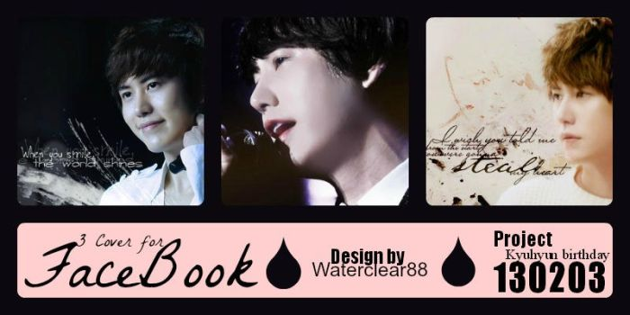 Kyuhyun's birthday cover by waterclear88