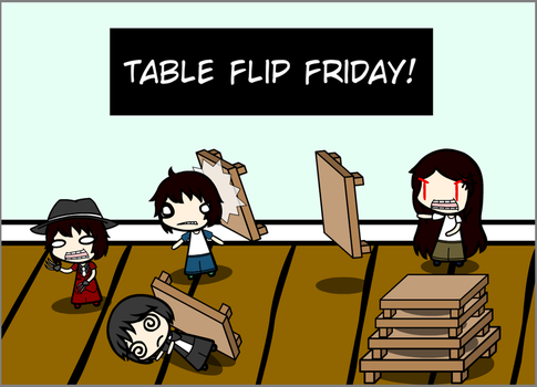 populousmaster 5 5 table flip friday by populousmaster - Table Flip