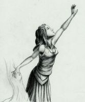 Female Character 05, Pencil by FMRachel