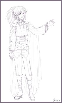-Rey - new design lineart- by Riense