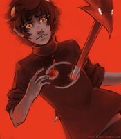 Homestuck - Game Over by QuietElegy
