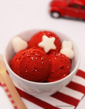 Red Velvet Ice Cream by theresahelmer
