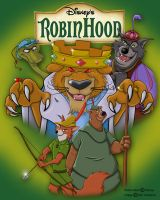 Disneys Robin Hood by Npr1977