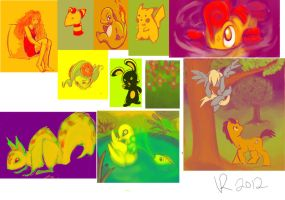 The colors Duke! by Jesness