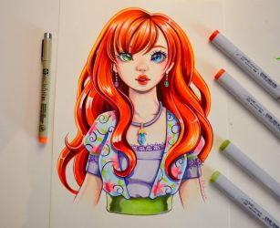 OC Commission #2 by Lighane