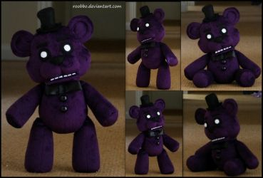 Five Nights At Freddy's Shadow Freddy by roobbo