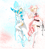 [Vindictus]Lotus.....and Brai!....and background! by LoLtus