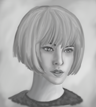 DIGITAL DRAWING PORTRAIT PRACTICE by ShadeOfYelloow