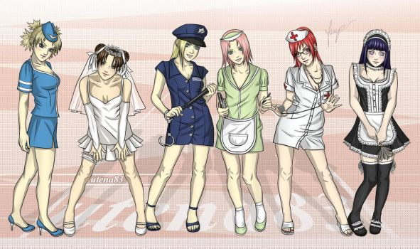 girls naruto by sasuke261