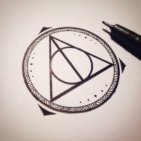 Triangle Mandala Tattoo by TheHosner