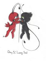OTP-inkber Day 5: Long and Sad by bluestarproduction