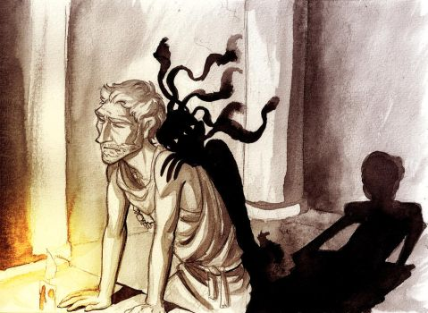 Orestes and his Guilt by poly-m