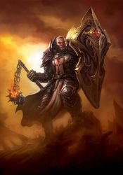 Crusader - Unbreakable warrior by danyiart