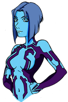 Cortana By Predaguy by ConstantScribbles