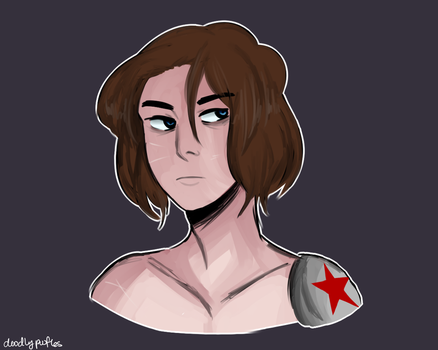 Bucky by mister-poof