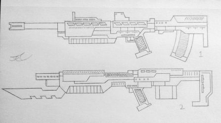 Weapons of the USN: Assualt Rifles (Project A) by AngelOfNope