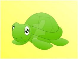 Turtle Vector by MHuang51491