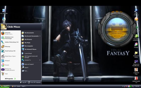 FF13 Desktop by chibimisao