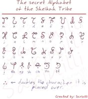 Long Untold Sheikah Alphabet by Sarinilli
