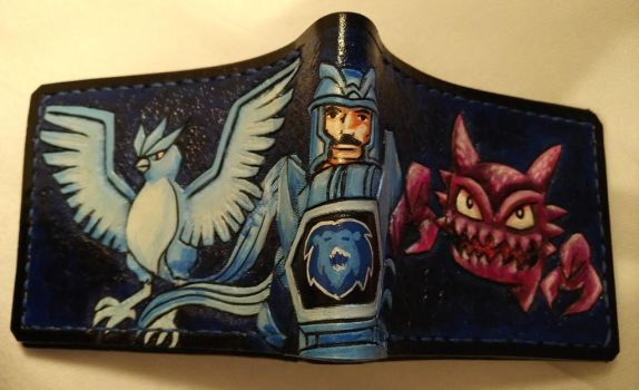 Pokemon visionaries leather wallet by Bubblypies