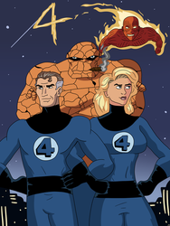 Fantastic Four by CountBedlam
