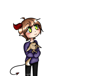 Little Loki and his pet by Tosia74