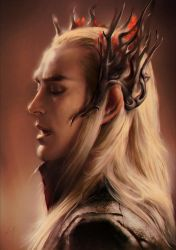 Thranduil Fanart by blackwings736