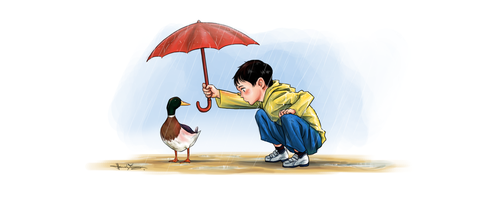 Of Ducks and Rain by nitefise
