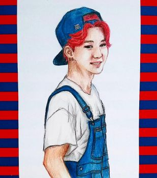 red and blue Jiminie by timii95