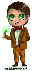 Minis 47 - The Eleventh Doctor by FuriarossaAndMimma