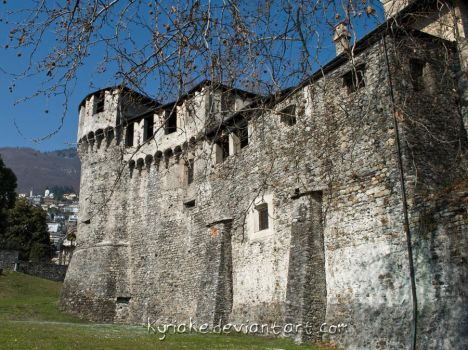 Castle of Locarno by Kyriake